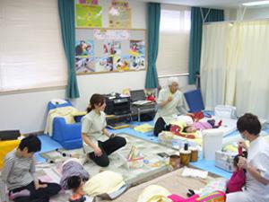 てんかん小児病棟・重症心身障がい病棟での療育